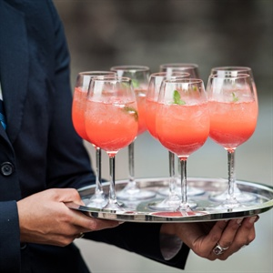 Strawberry Sangria Signature Cocktail