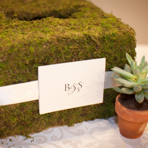Moss-Covered Card Box
