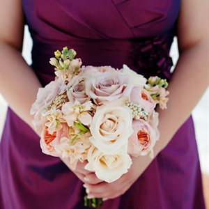 Blush Pink Bridesmaid Bouquets