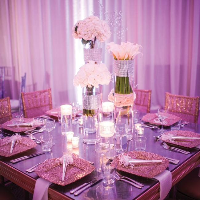 Mercury glass tiles gave