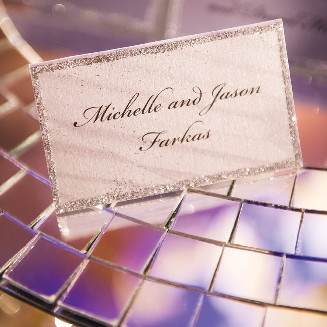 Silver glitter