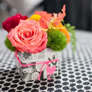 Comic Book Centerpieces