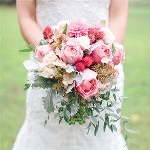 Soft Pink Bridal Bouquet