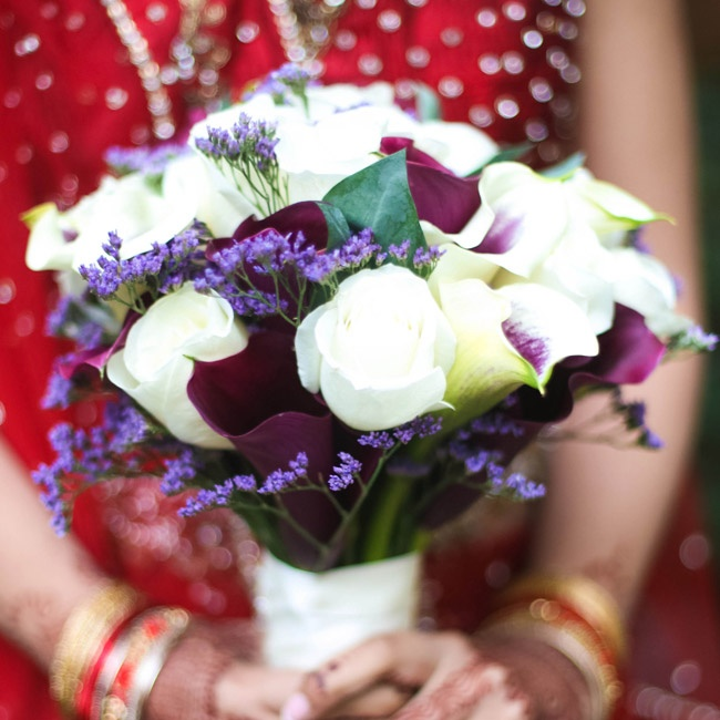 Bridal Bouquet In Mumbai : An indian wedding in brooklyn ny