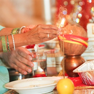 Indian Wedding Ceremony Ritual