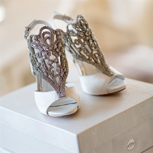 Custom Vince Camuto Bridal Shoes