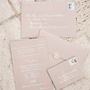 Formal Elegant Wedding Invitation