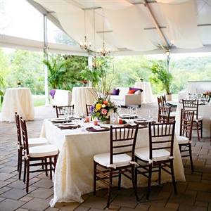 Rustic Reception Decor