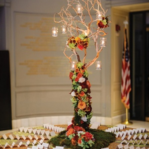 Manzanita Branch Escort Card Display