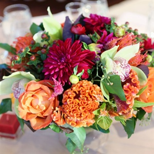 Colorful Reception Centerpiece