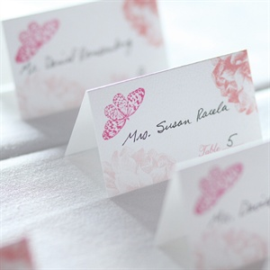 Garden Themed Escort Cards