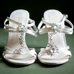 Jeweled Bridal Shoes