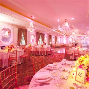 Romantic Pink Reception