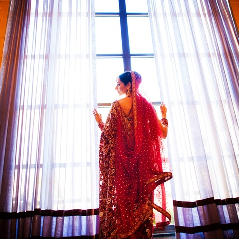 Red Wedding Sari