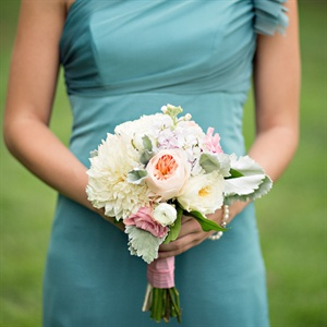 Delicate Bridesmaid Bouquets