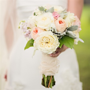 Muted Pastel Bridal Bouquet