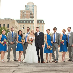 Boardwalk Wedding Party Portrait