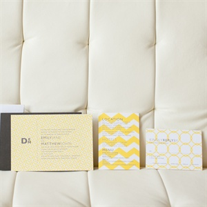 Modern Patterned Stationery
