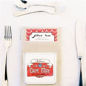 Artistic Menu Card