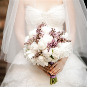 Peony and Lilac Bouquet