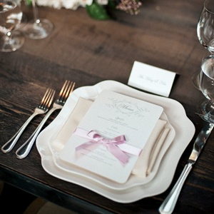 Fluted Square Place Settings