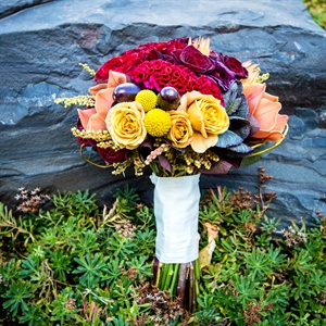 Harvest Inspired Bridal Bouquet