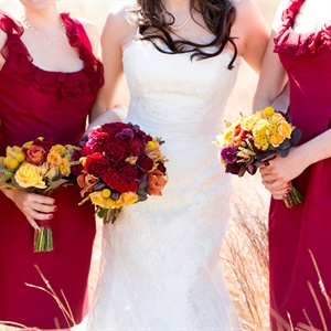 Ruby Red Lynn Lugo Bridesmaid Dresses
