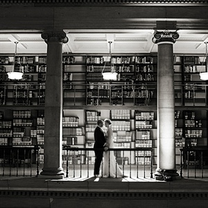 Couple Portrait at James J Hill Library