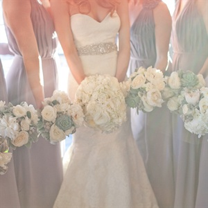 Gray Bari Jay Bridesmaid Dresses