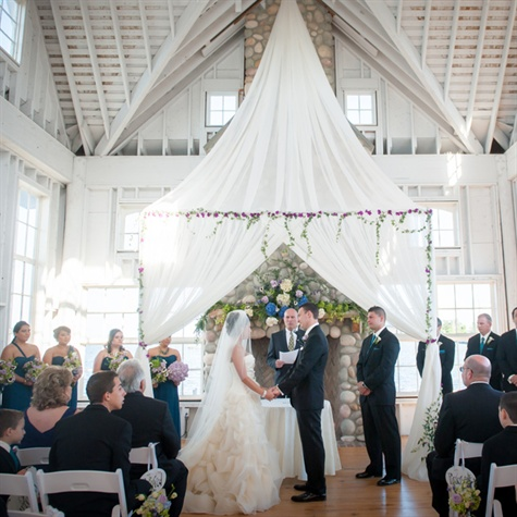 Mallard Island Yacht Club Wedding Ceremony