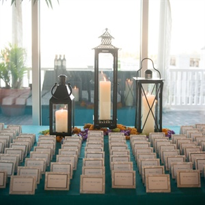 Nautical, Elegant Escort Card Table