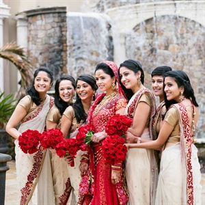 Indian Bridal Party Attire