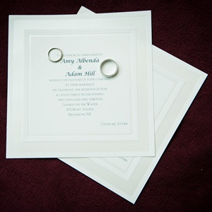 Minimalist Invitation Design