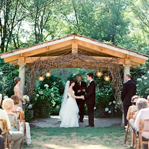 Camrose Hill Flower Farm Outdoor Ceremony Site