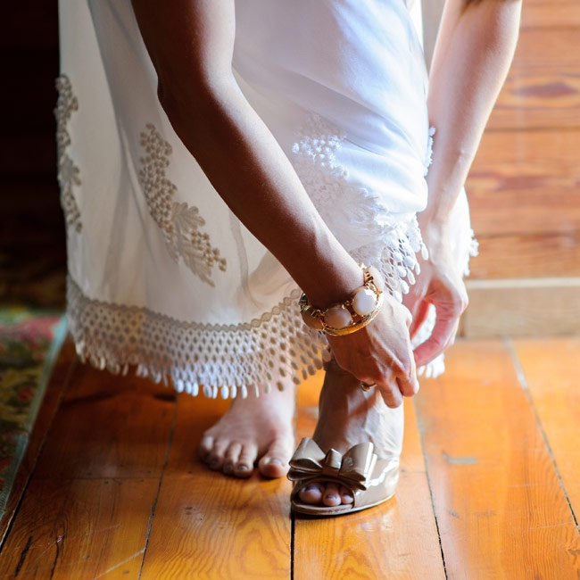 Bridal Shoes Saks: A Vintage Country Wedding In Clarksville, GA