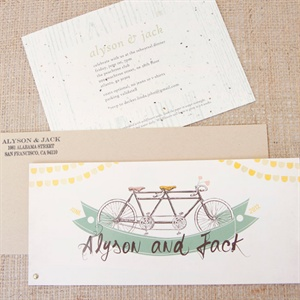 Bicycle Themed Invitations
