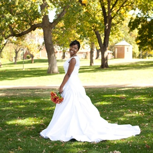 White Anjolique Wedding Gown