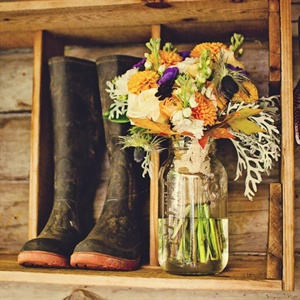 Rustic Floral Display