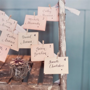 Vintage Style Escort Cards
