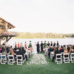 Sunset Outdoor Ceremony