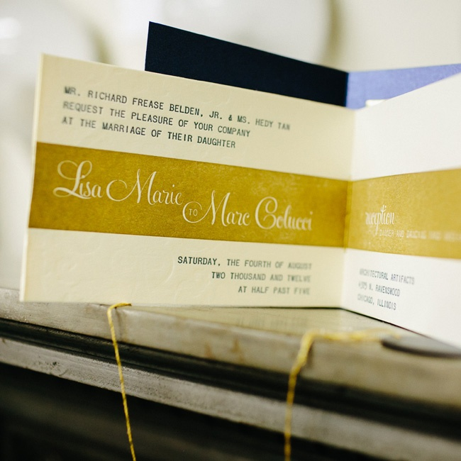 Guests unwound a gold