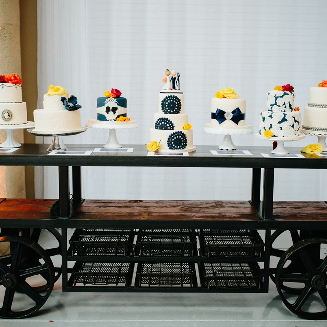 """Instead of having one massive cake, I decided to have a whole collection