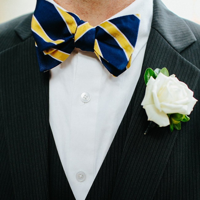 The groomsmen looked