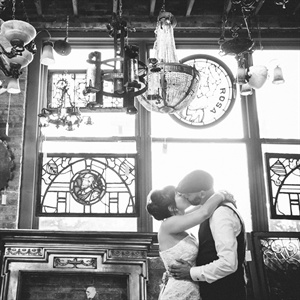 Architectural Artifacts Wedding Photo