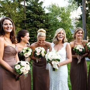 Amsale Bridesmaid Gowns