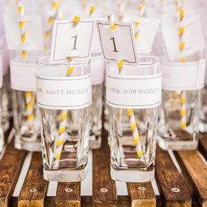 Cocktail Escort Cards