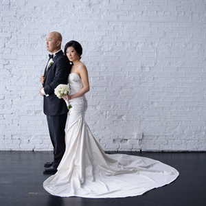 Stunning Sweeping Wedding Gown