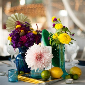 Colorful Centerpiece Display