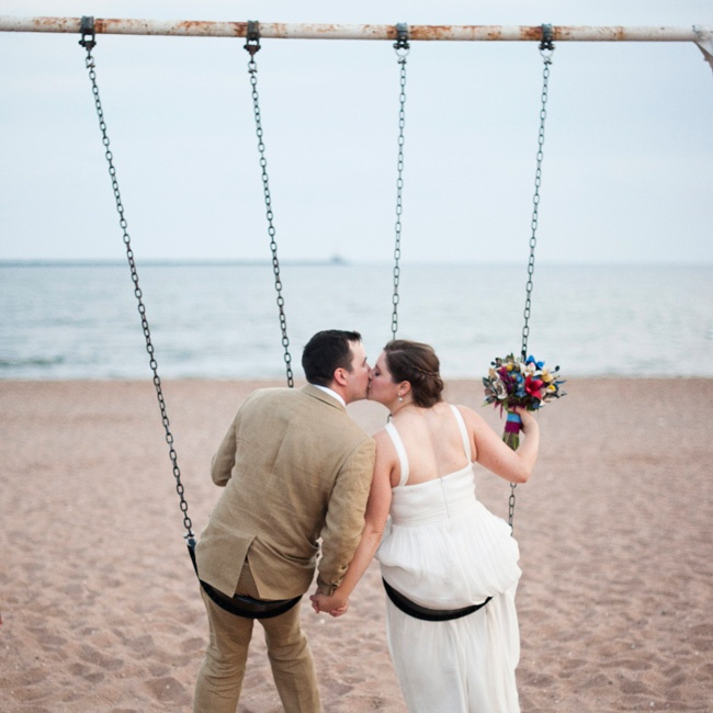 """Lighthouse Point Park was a really informal setting with a real sense of history, and it lent itself