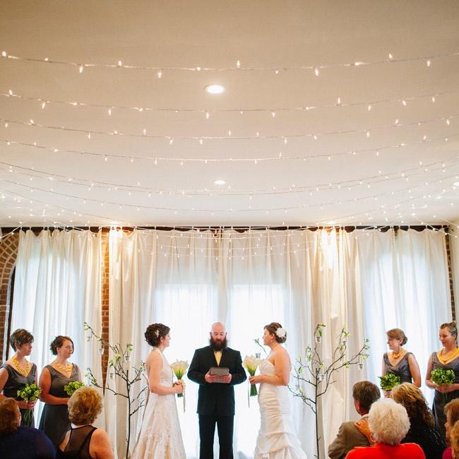 Informal Wedding Ceremony Ideas: A Casual Intimate Wedding In Brooklyn, NY